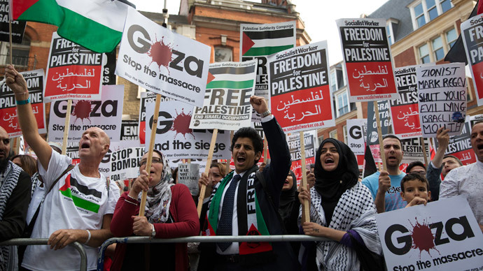 ​Ethnic cleansing: British activists mark the Nakba in solidarity with Palestinian refugees