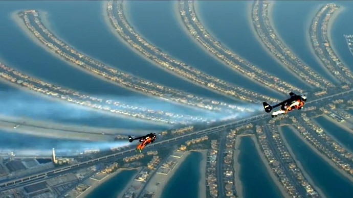 ​'Fly wherever you want:' Jetmen behind death-defying Dubai stunt speak out (VIDEO)