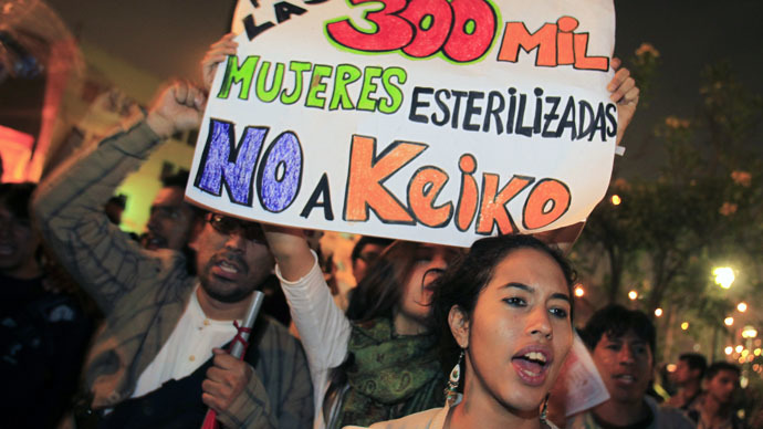 Peru reopens probe into mass sterilizations of over 300,000 indigenous people