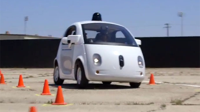 Google's self-driving cars to begin testing… with drivers