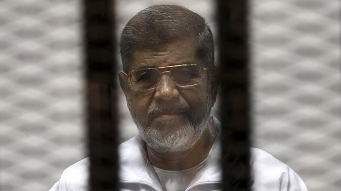 Court sentences Egypt's ex-president Morsi to death over 2011 prison break