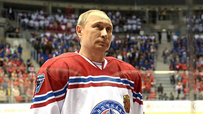 Putin puts his skates on for NHL, scores 8 goals (VIDEO)