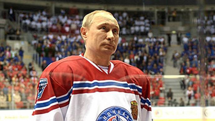 Putin puts his skates on for NHL, scores 8 goals (VIDEO)