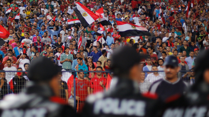 ​Egypt bans all hardcore soccer groups for 'terrorism'