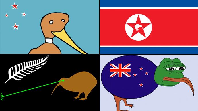 Kiwi bird vs union jack new zealand suggests new national flag kiwi bird vs union jack new zealand suggests new national flag sciox Choice Image