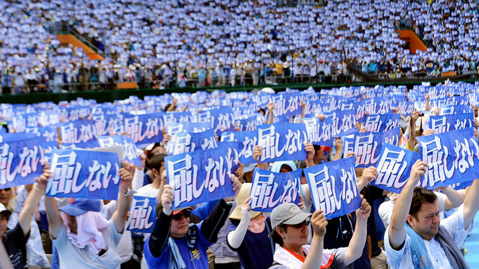 'Okinawa without US bases': 1000s march against foreign military presence in Japan