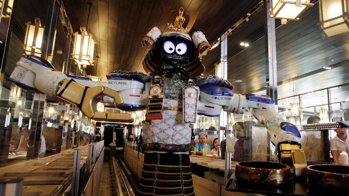 Robot revolution by 2020? Japan launches pro-robot campaign