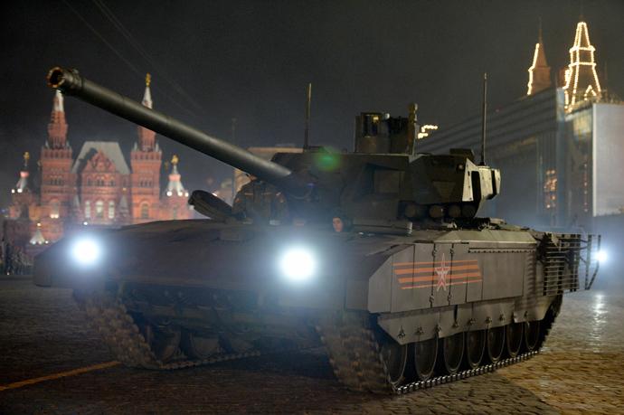 A T-14 tank with the Armata Universal Combat Platform (RIA Novosti / Vladimir Astapkovich)