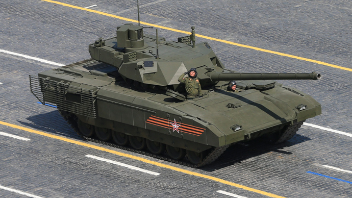 Russian T-14 tank with the Armata Universal Combat Platform (Reuters / RIA Novosti)