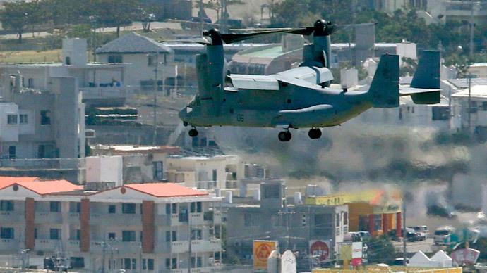 Okinawa governor demands suspension of Osprey flights after deadly Hawaii crash