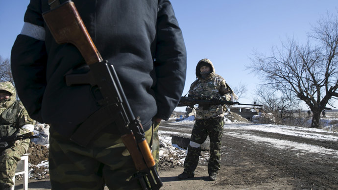 Kiev claims arrest of 2 Russian soldiers in eastern Ukraine