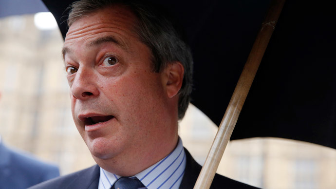 Farage farrago: Vow to front UKIP for another 20yrs dismissed as 'joke' by party member