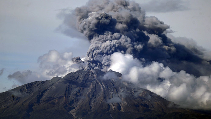 ​'Drumbeat' volcano earthquakes triggered by external noise – study