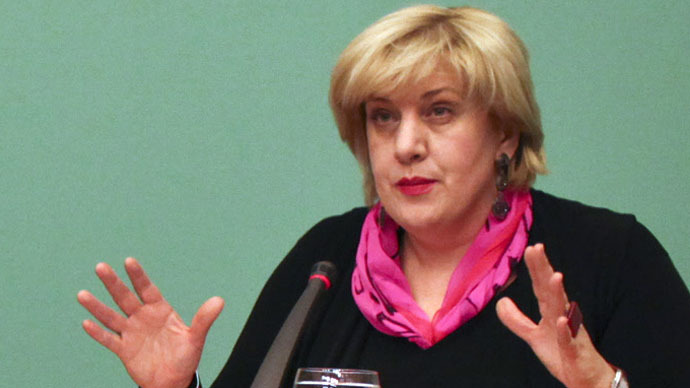 Organization for Security and Co-operation Representative on Freedom of the Media Dunja Mijatovic (AFP Photo)
