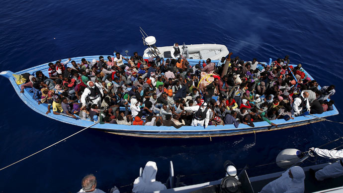 EU agrees to Mediterranean naval mission to stop migration flow amid controversy