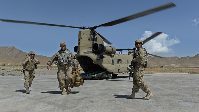 Russia stops transit of NATO military cargo to Afghanistan