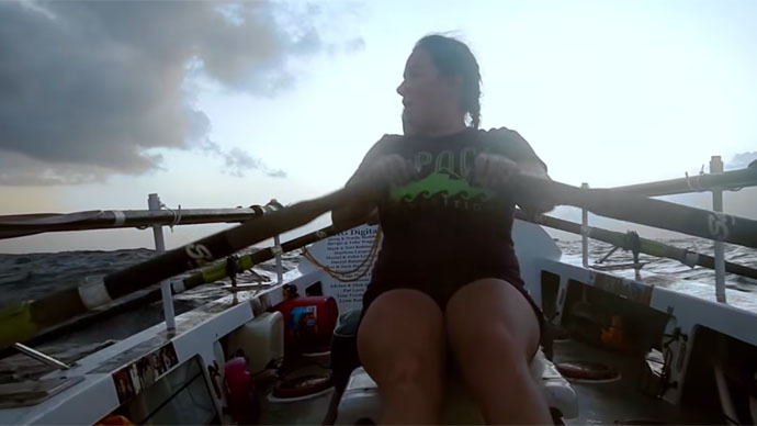 6,000 miles of solitude: Woman to attempt solo row from Japan to California
