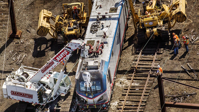 Amtrak seeks fast-track approval for speed-control system at site of May 12 crash