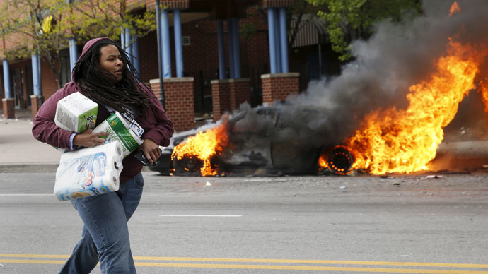 Baltimore sees a surge in violent crime
