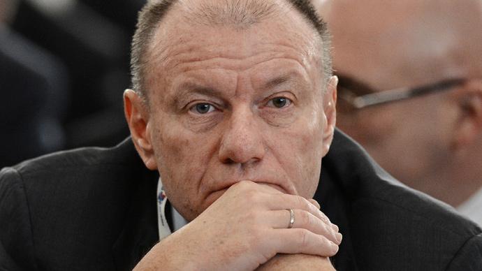 Sanctions effect is shrinking - Russia's richest businessman Vladimir Potanin