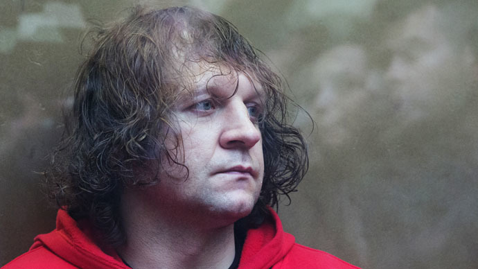 MMA fighter Emelianenko Jr gets 4 1/2 years behind bars for raping his cleaner