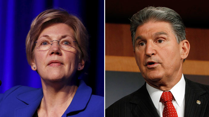 Show us the deal: Senators Warren, Manchin demand Obama disclose TPP