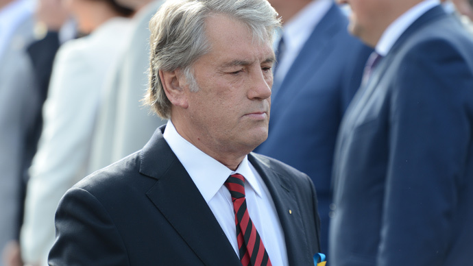 ​World swatting away Ukraine like 'an annoying fly' – ex-president Yushchenko