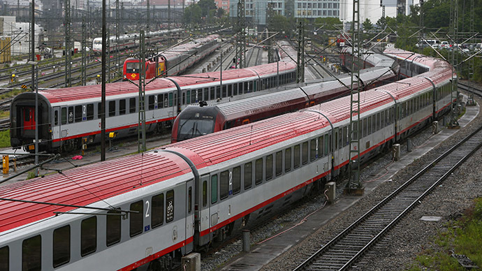 Germany hit by 9th strike by train drivers in 10 months