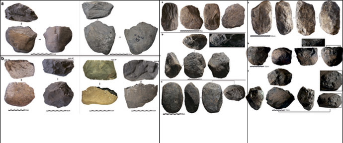 Photographs of selected LOM3 artefacts. (Nature Publishing Group (NPG)