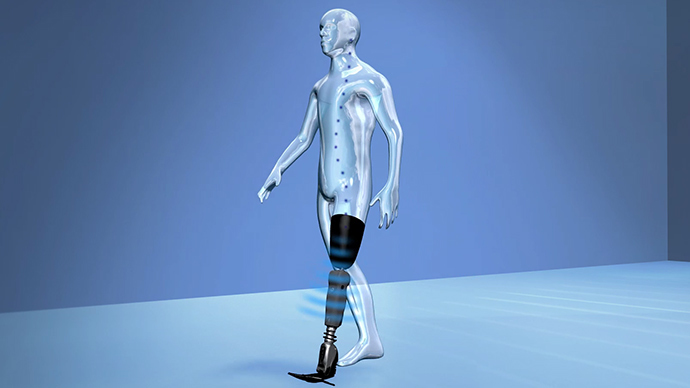 Bionic breakthrough: Mind-controlled prosthetic leg can read thoughts and subconscious intentions