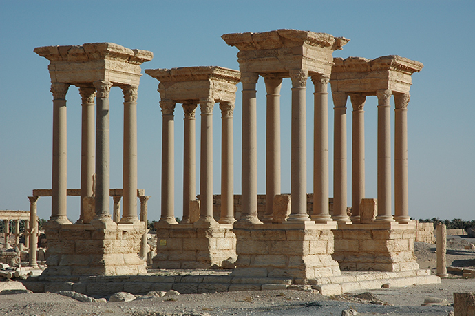 Site of Palmyra (Image from unesco.org)
