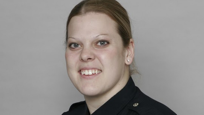 Female police officer killed in shootout 1 day before her newborn daughter's release from hospital