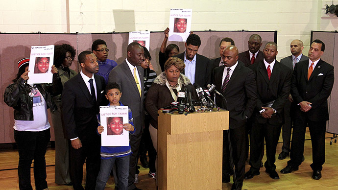 12yo boy killed by Cleveland cops had been charged with 'inducing panic' and 'aggravated menacing' – report