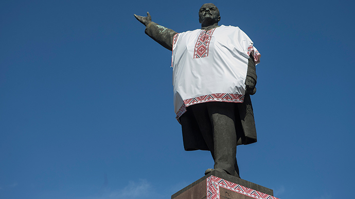 Russian leftists promise intl action over fresh anti-communist laws in Ukraine