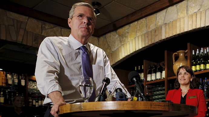 'Republicans spent too much money' - Jeb Bush's harshest criticism yet of his brother