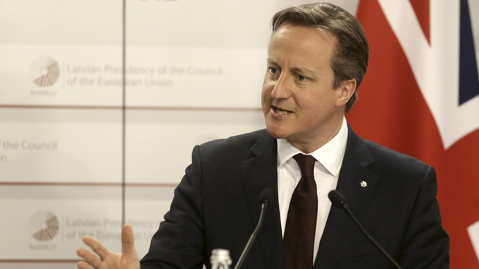 'All in this together': Cameron to impose 5-yr salary freeze for govt ministers
