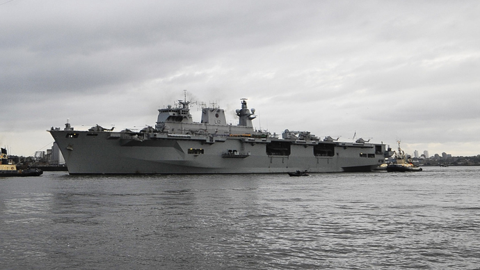 Britain sends biggest warship for NATO drills on Russian border