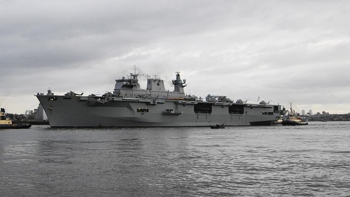 Britain sends biggest warship for NATO drills on Russian border