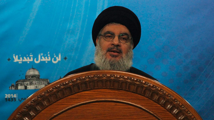 'No one can bury heads in sand:' Hezbollah leader calls for help fighting ISIS in Syria