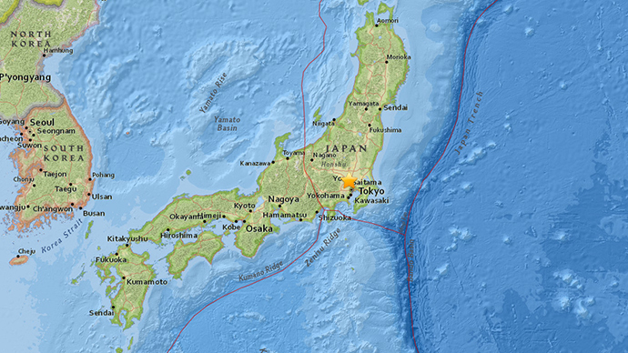 5.6 Tokyo tremor shakes buildings in Japanese capital, halts subway