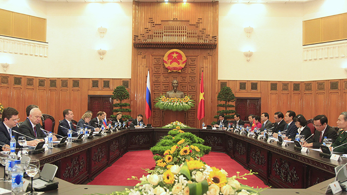 Russia OKs draft deal on free trade between Eurasian Economic Union, Vietnam
