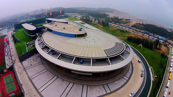 Trekky dream: Chinese millionaire erects $160mn starship Enterprise HQ