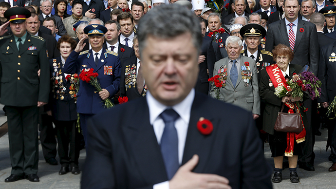 Promises lead to debts: Poroshenko marks 1st year in office