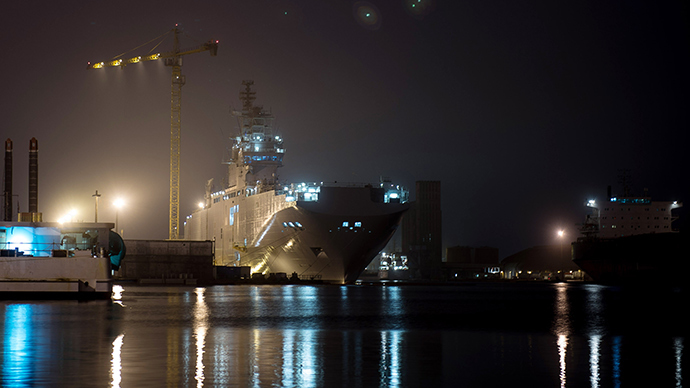 Russia won't be taking Mistral warships from France – official