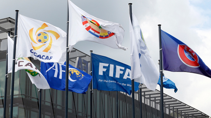 FIFA re-elects Blatter president amidst corruption scandal