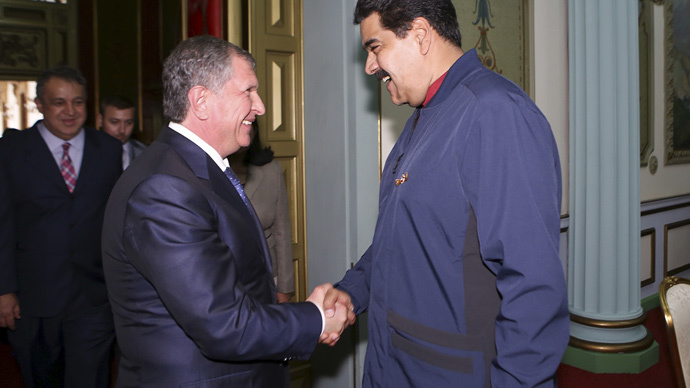 Russia, Venezuela agree on massive $14bn oil & gas investment deal