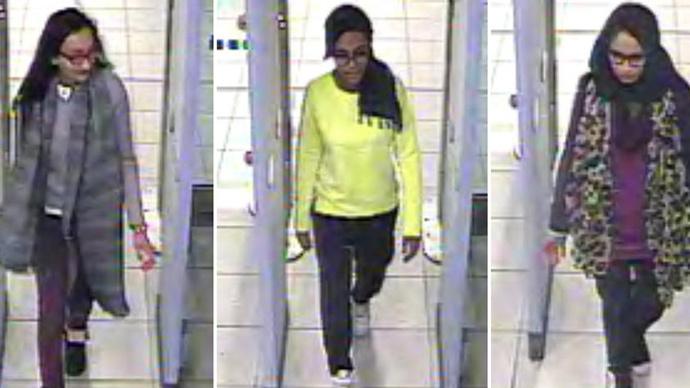'Naïve' British schoolgirls 'will die in Iraq or Syria' – ISIS commander