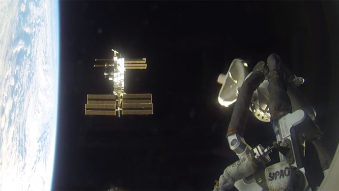 NASA releases mesmerizing VIDEO of Soyuz docking ISS