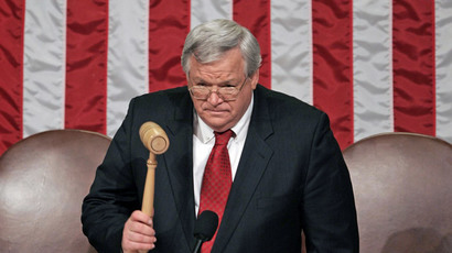 Former US House Speaker Dennis Hastert.(AFP Photo / Paul J. Richards )