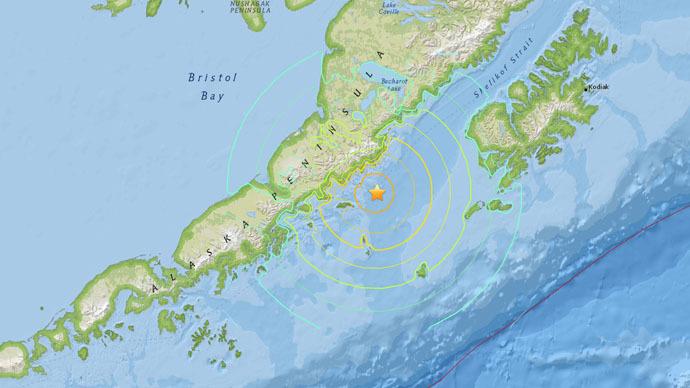 6.8 earthquake strikes off Alaska's southwest coast – USGS